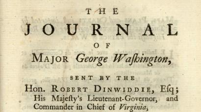 Journal of Maj. Washington