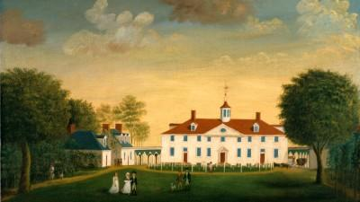 West Front of Mount Vernon