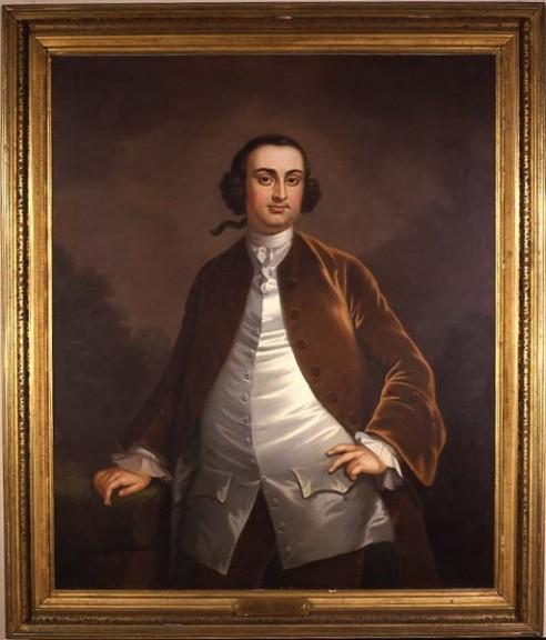 Daniel Parke Custis, John Wollaston, oil on canvas, 1757 [U1918.1.2] Washington-Custis-Lee Collection, University Collection of Art and History, Washington & Lee University, Lexington, Virginia