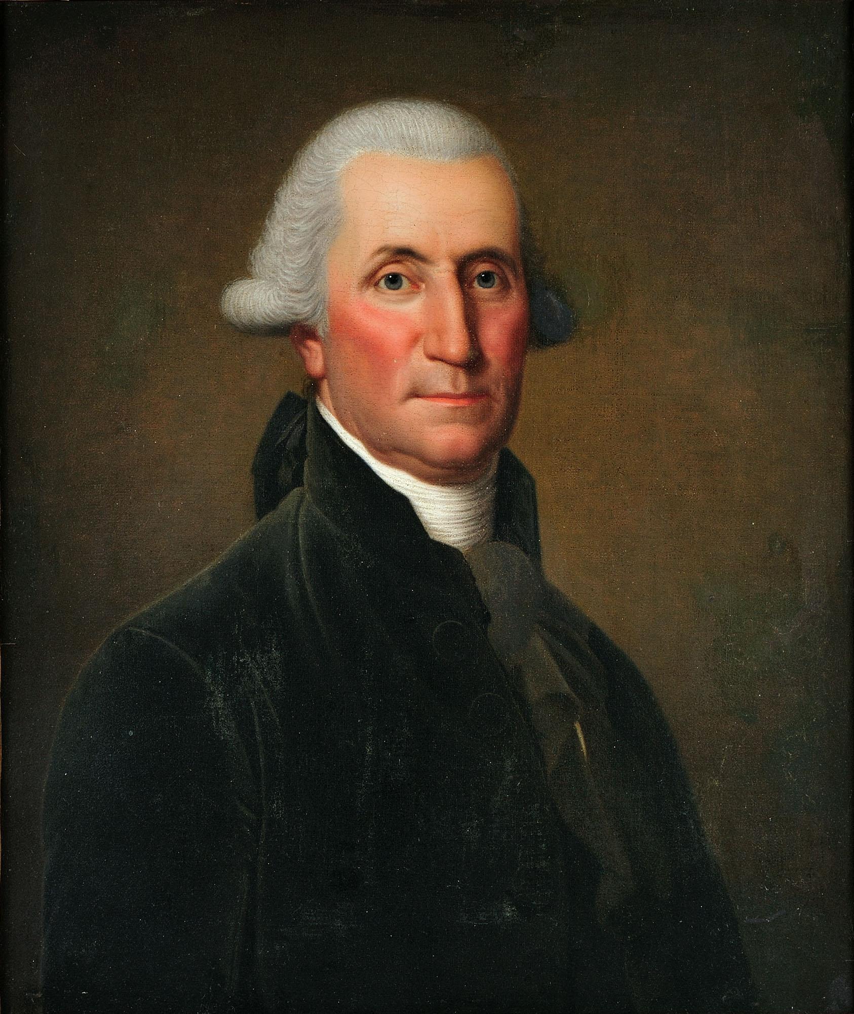 George Washington, c. 1795, Adolf Ulrik Wertmüller, Purchased by the Connoisseur Society of Mount Vernon, 2011, H-4902