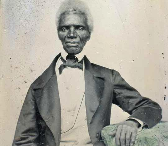 """Tom, seen here, was a """"dower slave,"""" meaning he (or more likely his mother) was one of the Custis dower slaves.  When her first husband died without having a will in 1757, Virginia law ensured that the widow received a life interest in one-third of his property, including any slaves.  She did not own those slaves, who would revert to the other Custis heirs at her death.  MVLA"""