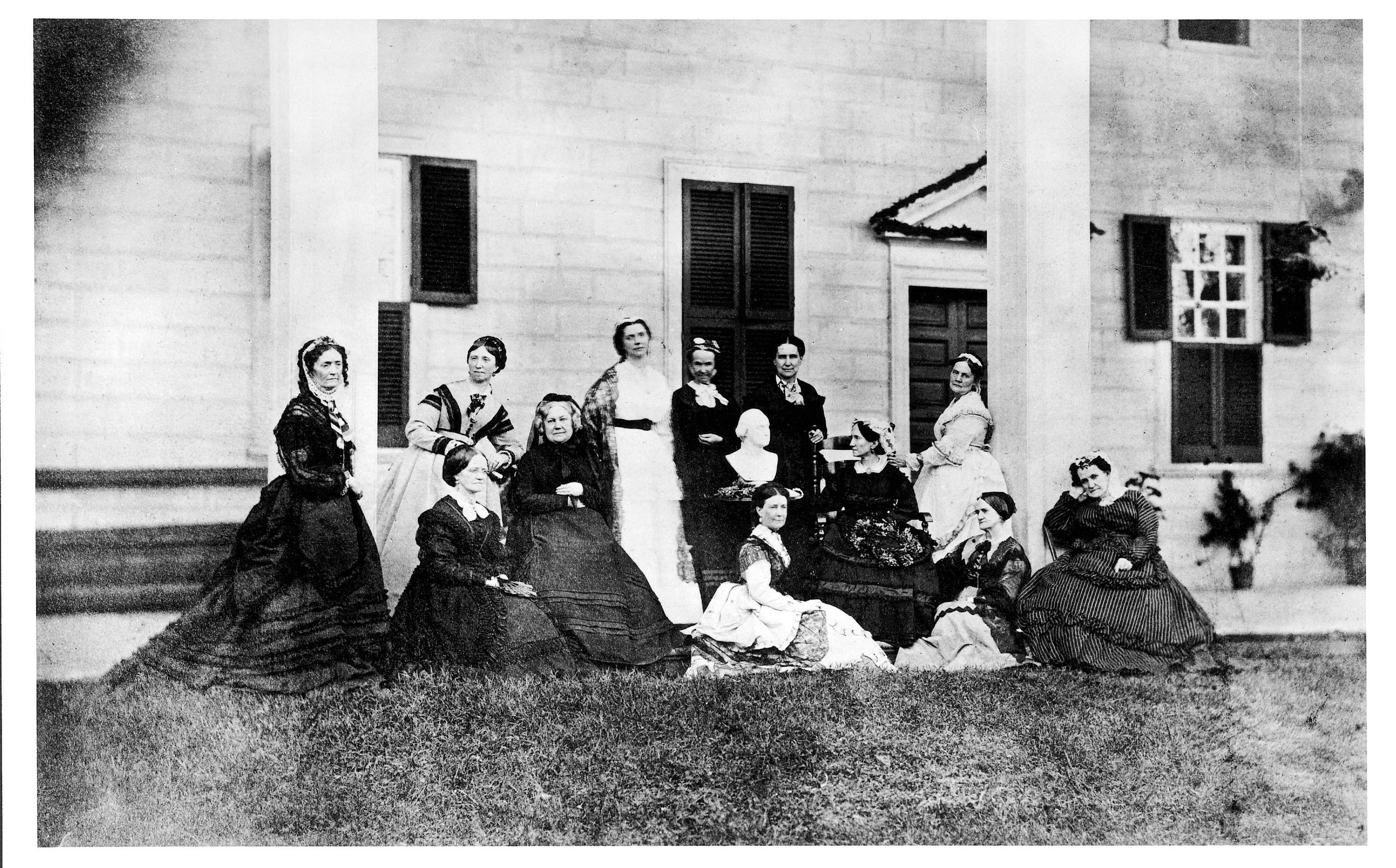 Mount Vernon Ladies' Association in 1884, MVLA.