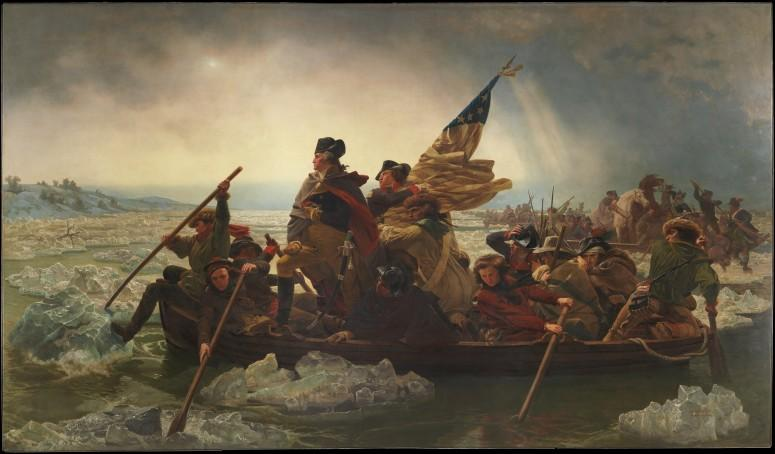 Washington Crossing the Delaware by Emanuel Leutze, 1851 (The Metropolitan Museum of Art)