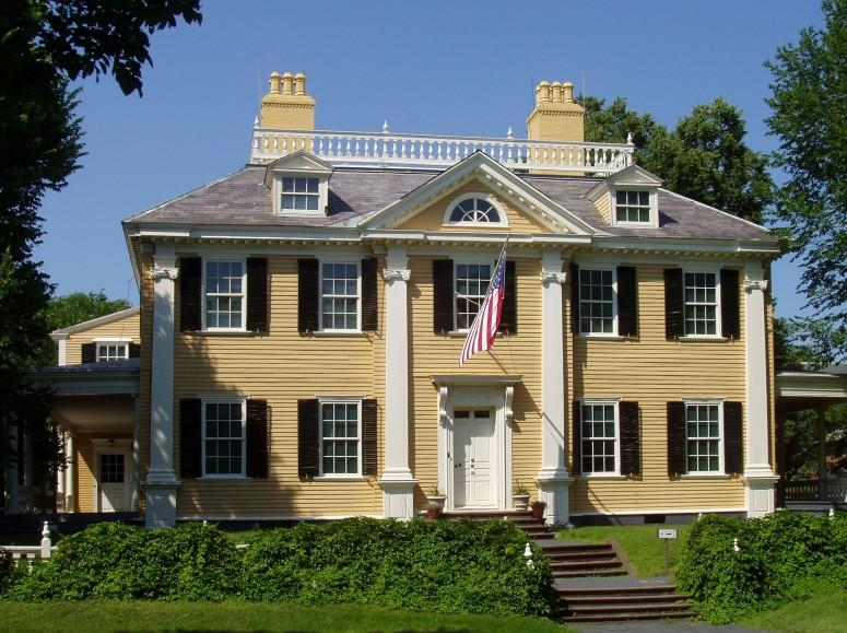 Henry W. Longfellow was given John Vassall's home as a wedding gift in the nineteenth century.  The location is now operated by the National Park Service. - Longfellow National Historic Site, Cambridge, M.A., Courtesy Wikimedia Commons.