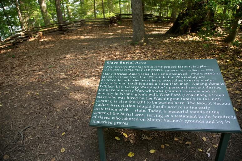 The Slave Burial Ground at Mount Vernon