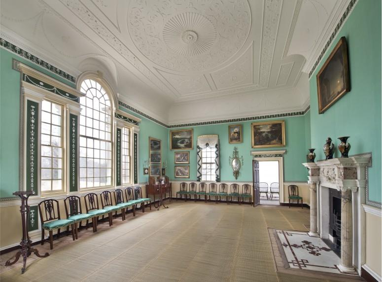 "The New Room was Washington's ""show room."" Photograph by Gavin Ashworth."