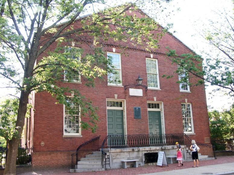 The Old Presbyterian Church in Alexandria - MVLA (Rob Shenk)