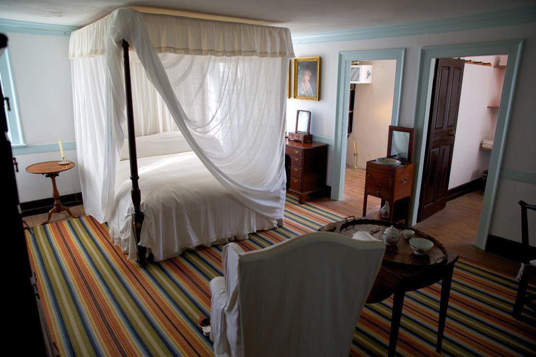 The Washington Bedroom within Mount Vernon. MVLA
