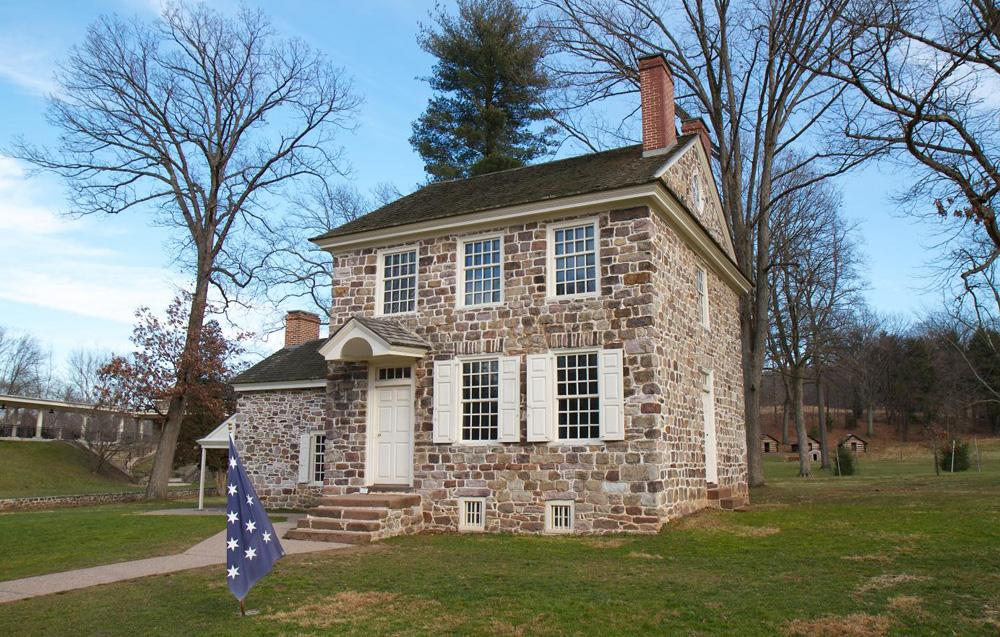Martha Washington stayed with George Washington in his headquarters at Valley Forge (Rob Shenk)