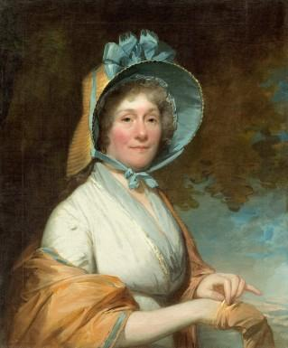 Henrietta Marchant Liston (Mrs. Robert Liston), by Gilbert Stuart, 1800. Courtesy National Gallery of Art, Washington.