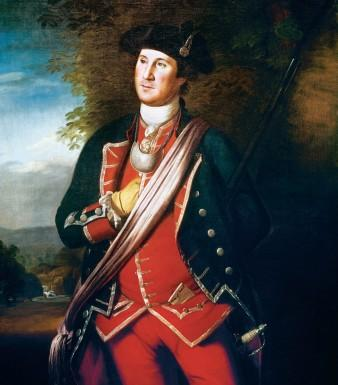 George Washington by Charles Wilson Peale, 1772.