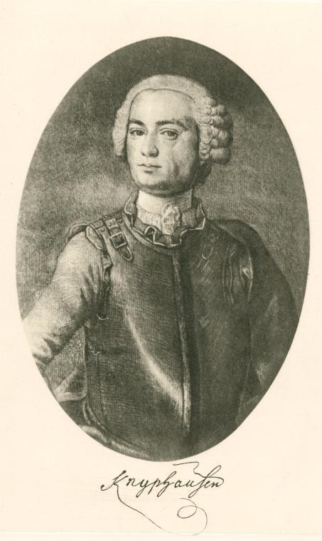 Wilhelm von Knyphausen. Courtesy New York Public Library.