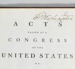 George Washington's Acts of Congress