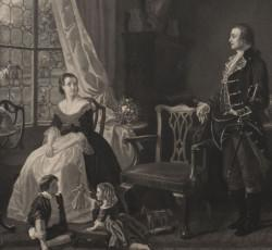 The Washingtons' Courtship