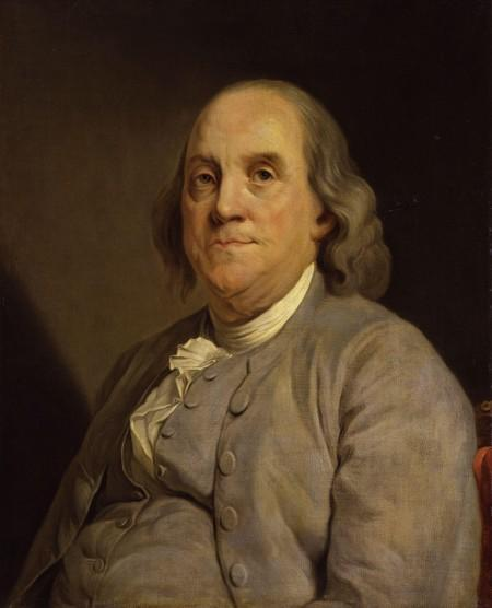 Benjamin Franklin did his best to lighten the mood with jokes when the mood got too tense during the convention (Wikimedia)