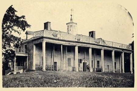 A group of visitors in May of 1860 described the state of the Mansion as
