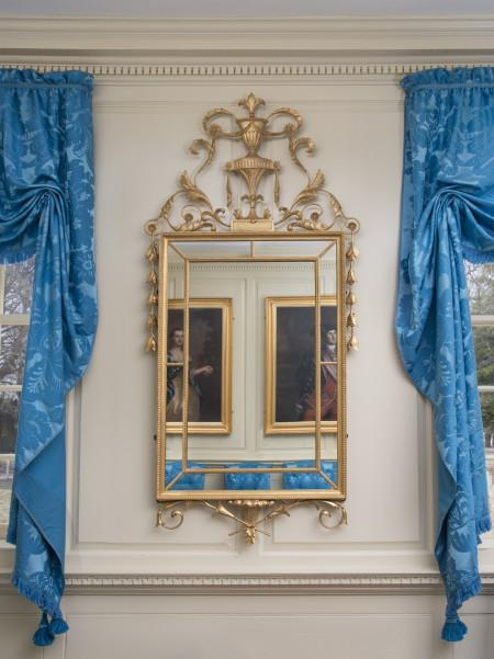 Reproduction of the looking glass Nelly inherited, Gavin Ashworth.