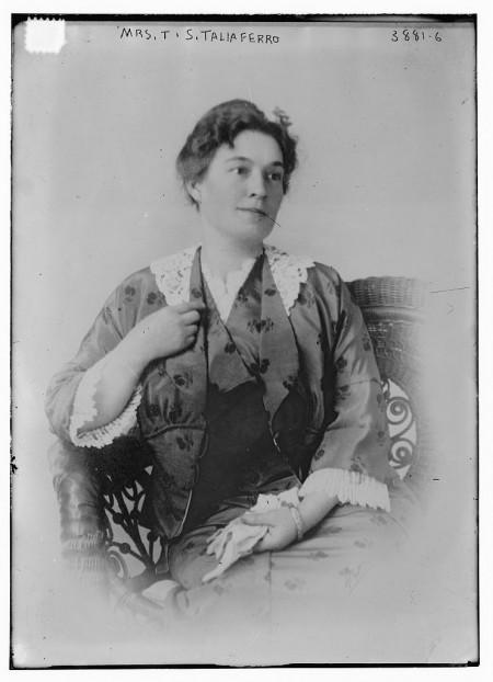 Vice Regent for Wyoming, Mrs. Thomas Seddon Taliaferro, Jr., Bain News Service, c.1915-1920, Library of Congress.