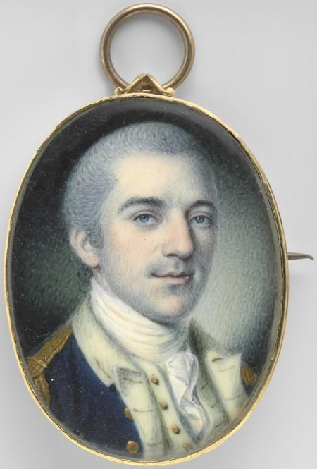 John Laurens, Charles Wilson Peale, 1780, Watercolor on ivory, National Portrait Gallery, Smithsonian Institution, Conserved with funds from the Smithsonian Women's Committee.