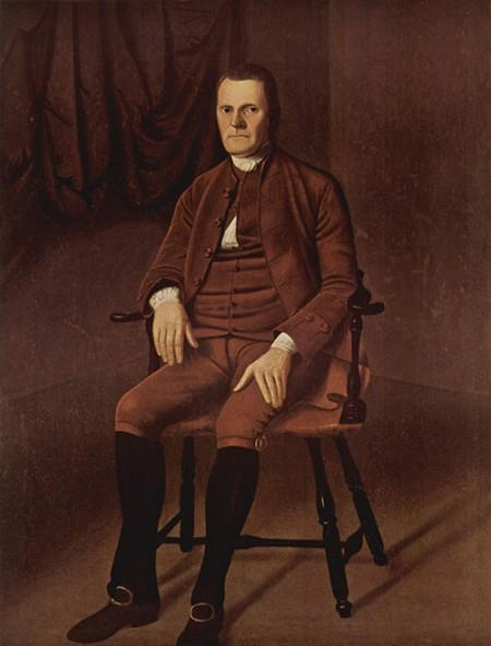 Painting of Roger Sherman by Ralph Earl (Wikimedia)