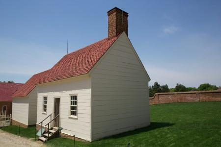 The Wash House is an Original Structure. MVLA.