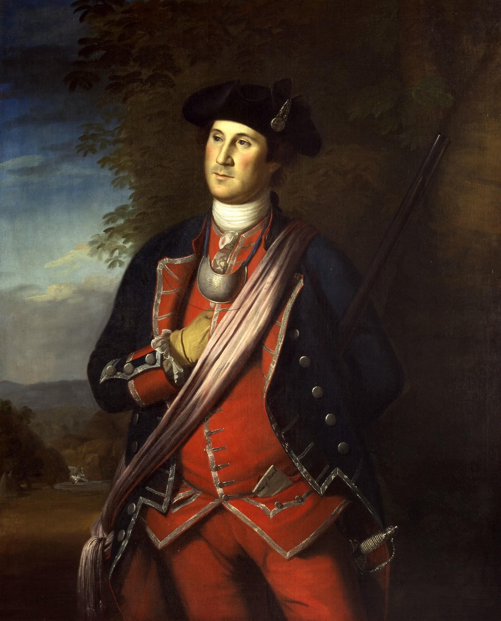 Life Portraits Of George Washington George Washington S Mount Vernon