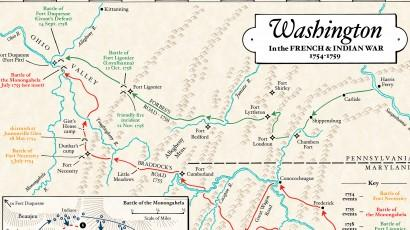 Washington in the French and Indian War