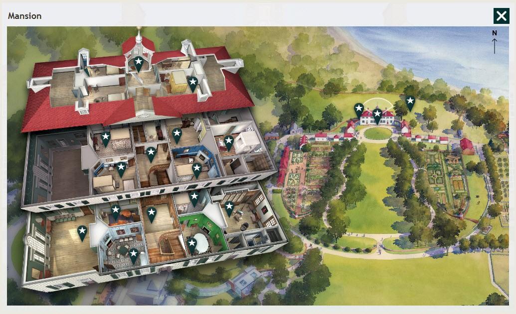 The Mount Vernon Virtual Tour · George Washington's Mount Vernon