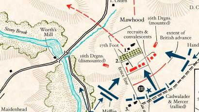 Gwu Mount Vernon Campus Map.10 Facts About The Battle Of Princeton George Washington S Mount