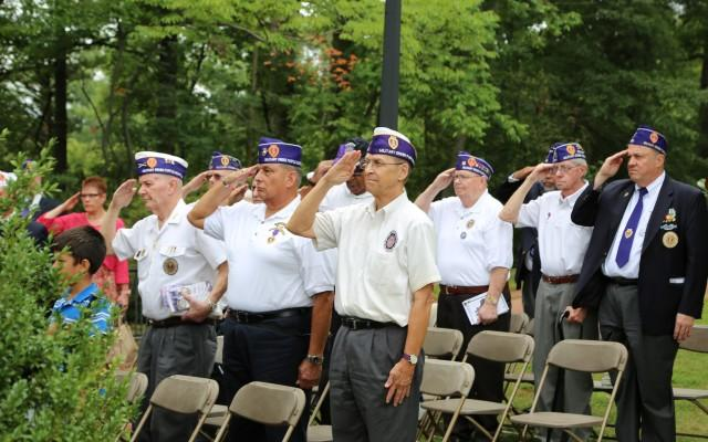 Mount Vernon Commemorates National Purple Heart Day