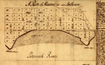 A plan of Alexandria, now Belhaven.