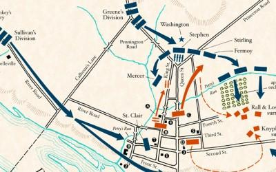 Map: Battle of Trenton