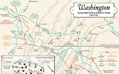 Washington in the French & Indian War
