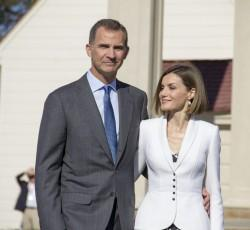 Their Majesties King Felipe VI and Queen Letizia