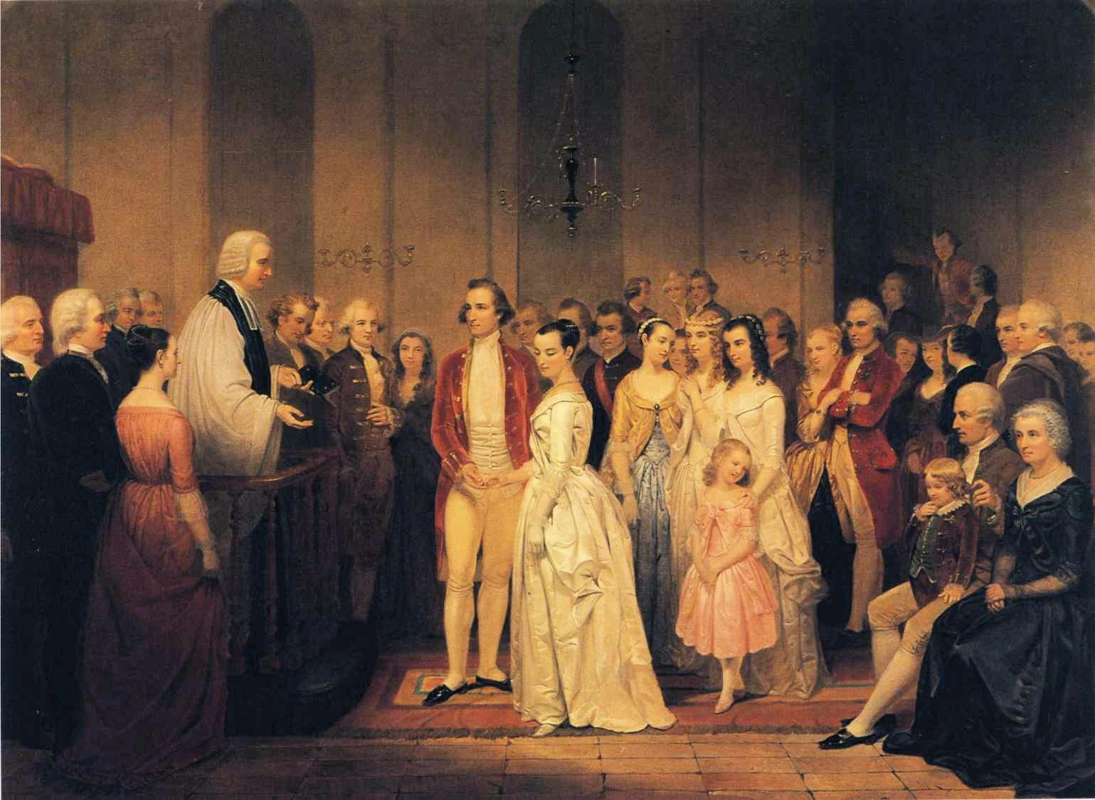 George and Martha Washingtons' Relationship · George