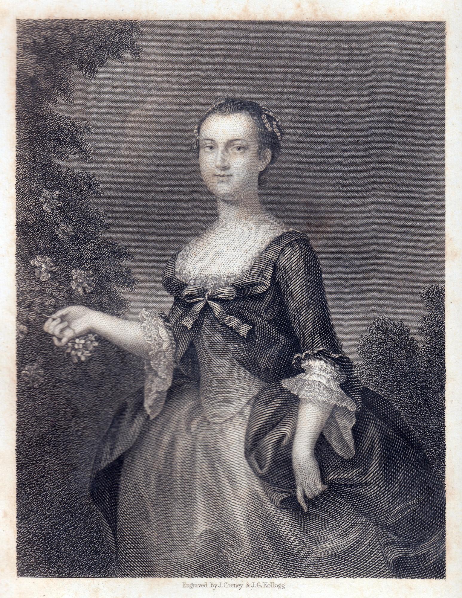 George And Martha Washingtons
