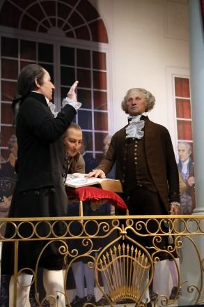 George Washington Leaves to Become President