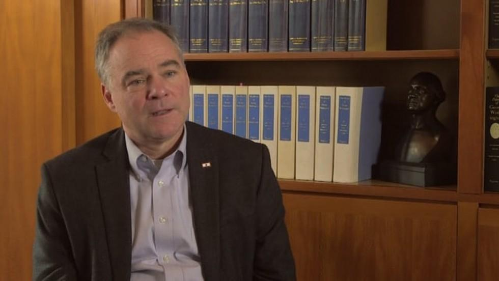 Senator Tim Kaine discusses Washington's Renunciation of Power