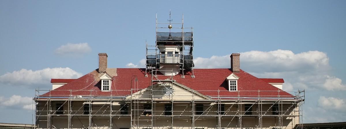 Roof Restoration At Mount Vernon George Washington S Mount Vernon