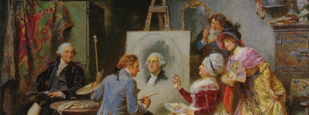 Life Portraits of George Washington · George Washington's