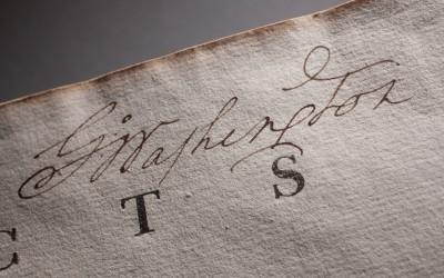 Washington's Signature