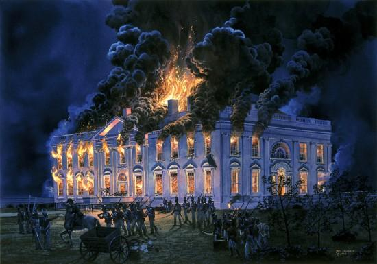 The Burning of Washington, and the Townhomes