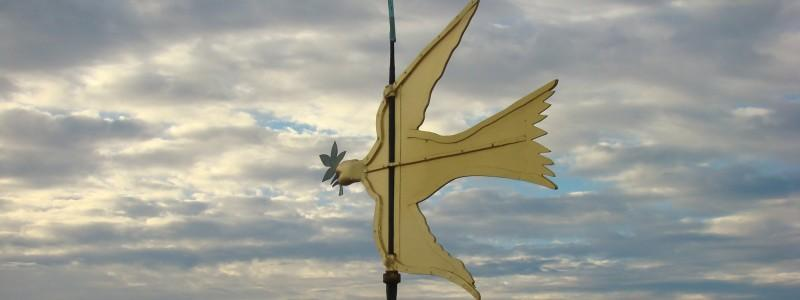 Dove of Peace Weathervane