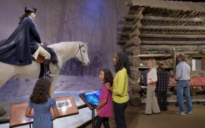 The Valley Forge exhibit