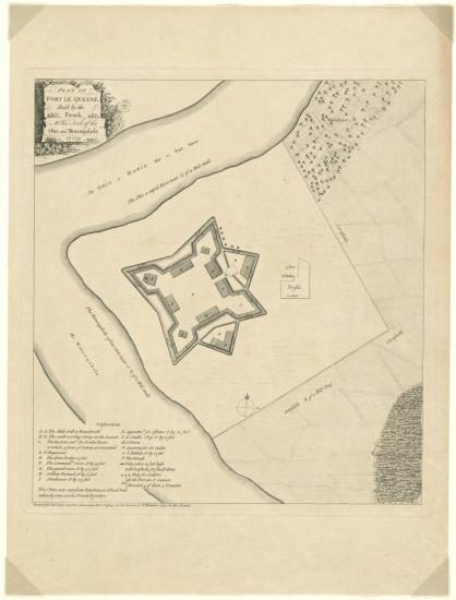 French Fort Building in the Ohio