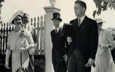 King George VI and Queen Elizabeth at Mount Vernon, 1939