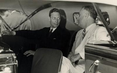 King George VI and FDR, 1939