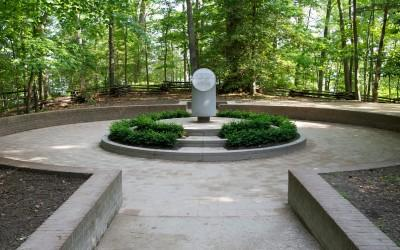 Guests can pay their respects at the Slave Memorial and Cemetery.