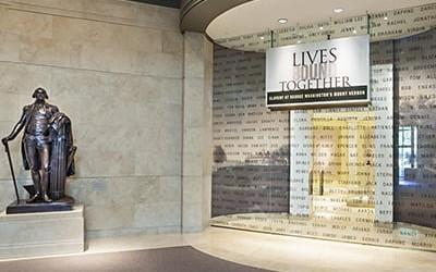 Explore our award-winning Exhibition, Lives Bound Together: Slavery at George Washington's Mount Vernon