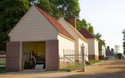 The plantation's original outbuildings are open for exploration.